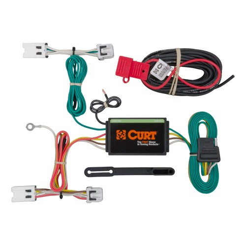 small resolution of curt t connector vehicle wiring harness with 4 pole flat 4 pole switch diagram 4 pole contactor wiring diagram