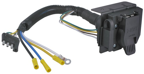 Wiring Diagram For The Curt 4 Pole To 7 Pole Adapter # C57674 And