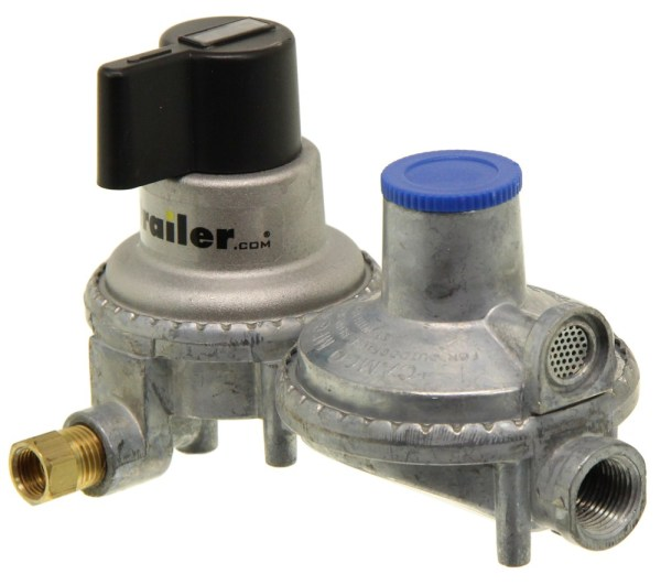 Camco Automatic Changeover 2-stage Propane Regulator Dual Tanks Cam59005