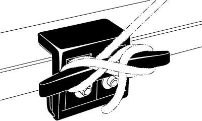 2005 Chevrolet Silverado Extang CargoCleats Truck Bed Tie