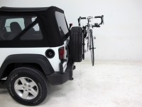 jeep wrangler Hollywood Racks SR2 2-Bike Carrier - Spare ...