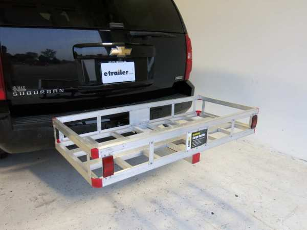 20x47 MaxxTow Cargo Carrier for 2quot Hitches Aluminum