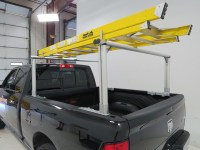 MaxxTow Truck Bed Ladder Rack w/ Load Stops - Aluminum ...