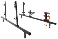 Rack'Em Rack for Truck Bed Side Rails - Holds 2 Trimmers ...