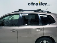 Roof Rack for Subaru Forester, 2014 | etrailer.com
