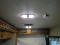 Camper Trailer Interior Lights : Brilliant Black Camper ...