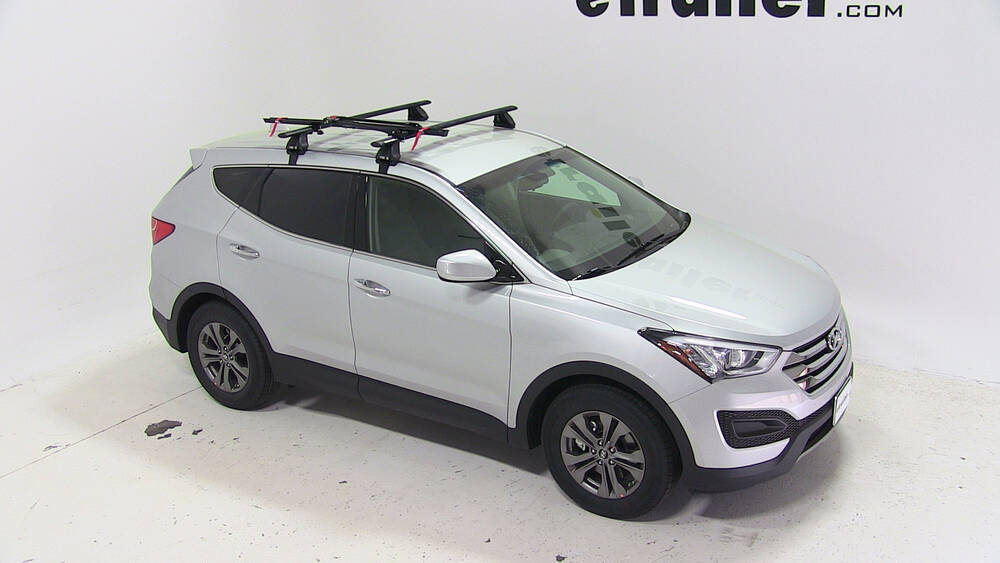 2015 Hyundai Santa Fe Upright Roof Bike Carrier