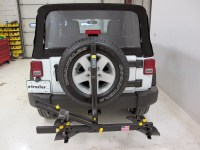 Jeep Wrangler Saris Freedom 2 Bike Rack - Platform Style ...