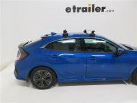 2016 Honda Civic Thule Rapid Traverse Roof-Rack Foot Pack