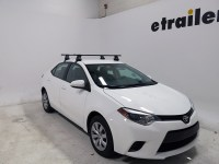 Thule Roof Rack for Toyota Corolla, 2014 | etrailer.com