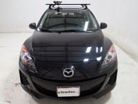 Mazda 3 Thule Big Mouth Roof Mounted Bike Rack - Frame Clamp