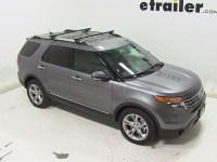 Thule Roof Rack for 2013 Ford Explorer   etrailer.com