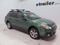 Subaru Outback Wagon Whispbar Locking Rooftop Ski and