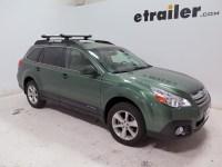 Subaru Outback Wagon Whispbar Locking Rooftop Ski and ...