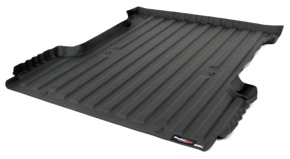 WeatherTech TechLiner Custom Truck Bed Mat  Black