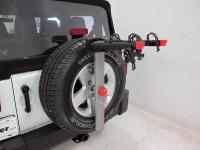 2016 Jeep Wrangler Yakima SpareTime 2 Bike Carrier - Spare ...