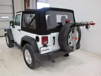 2016 Jeep Wrangler Spare Tire Bike Racks - Yakima