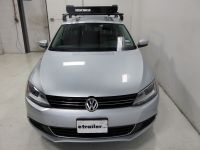Volkswagen Jetta Yakima LoadWarrior Roof Rack Cargo Basket