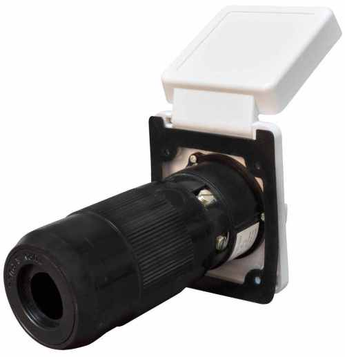 small resolution of mighty cord replacement rv power inlet 50 amp twist lock white mighty cord rv wiring a10 50invp