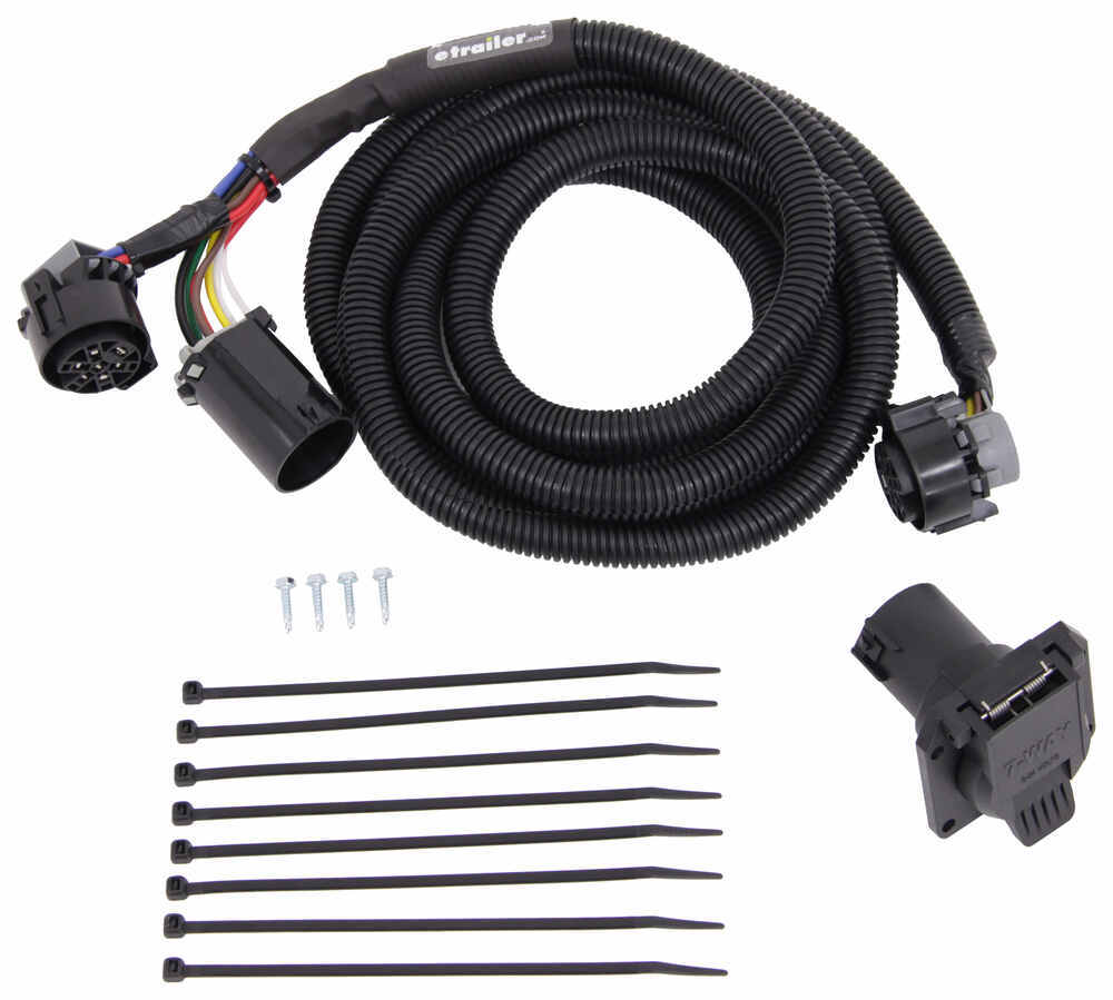 hight resolution of mighty cord 5th wheel gooseneck wiring harness w 7 pole connector 10