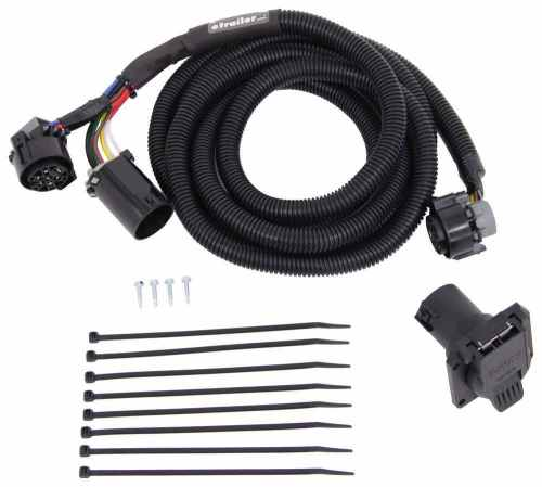 small resolution of mighty cord 5th wheel gooseneck wiring harness w 7 pole connector 10