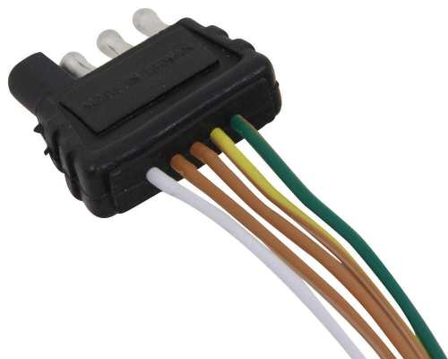 small resolution of 35 ft 4 way trailer wiring harness wishbone style 42 ground optronics wiring a35w42b