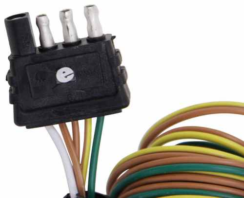 small resolution of 4 way wishbone trailer wiring harness with 42