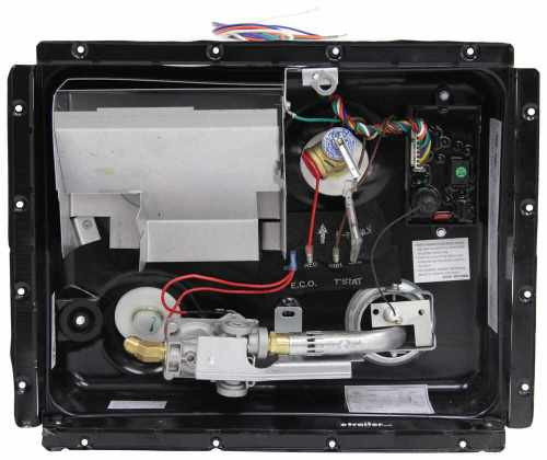 small resolution of atwood rv water heater w heat exchange gas and electric automatic pilot