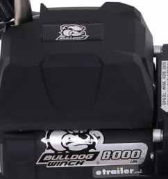 bulldog winch standard series off road winch wire rope roller fairlead 8 000 lbs bulldog winch electric winch bdw10041 [ 1000 x 799 Pixel ]