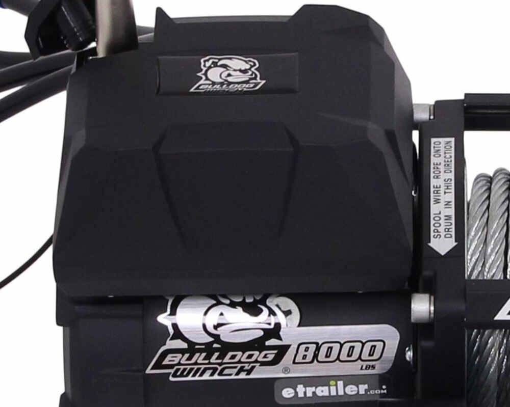 hight resolution of bulldog winch standard series off road winch wire rope roller fairlead 8 000 lbs bulldog winch electric winch bdw10041