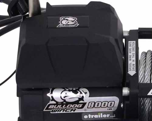 small resolution of bulldog winch standard series off road winch wire rope roller fairlead 8 000 lbs bulldog winch electric winch bdw10041