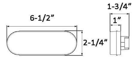 Compare Optronics LED Backup vs Optronics LED Backup