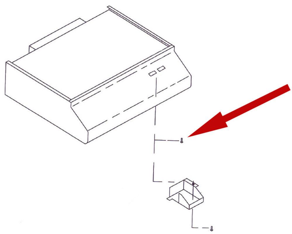 Replacement Ground Screw for Ventline RV Range Hood