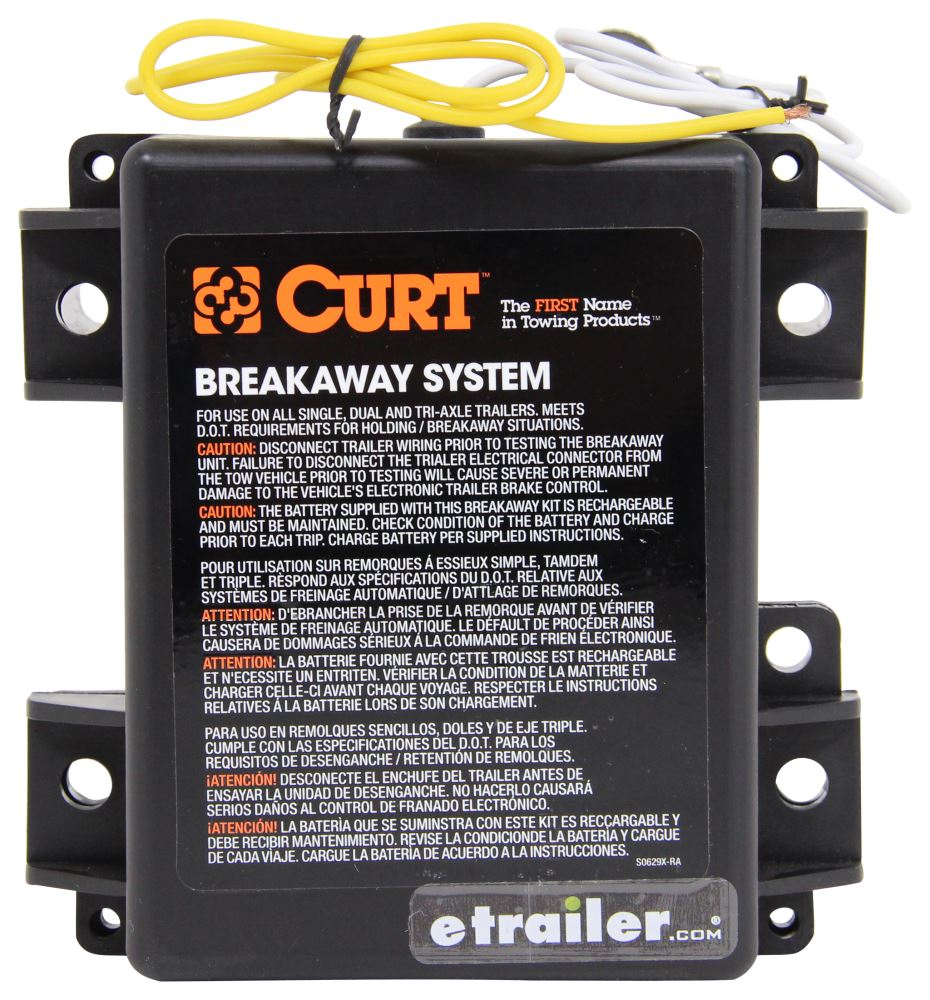 medium resolution of curt push to test trailer breakaway kit with built in battery charger side load curt trailer breakaway kit c52042