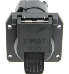 curt t connector vehicle wiring harness for factory tow package 7 way trailer connector curt custom fit vehicle wiring c55242 [ 803 x 1000 Pixel ]