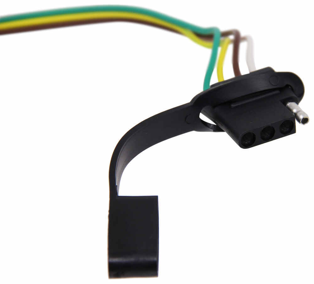 medium resolution of curt t connector vehicle wiring harness with 4 pole flat trailer connector curt custom fit vehicle wiring c55362