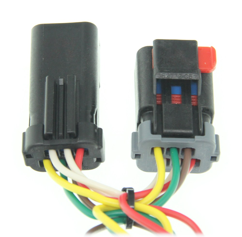 hight resolution of curt 4 flat custom fit vehicle wiring c55376