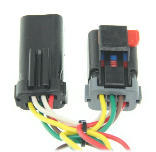small resolution of curt 4 flat custom fit vehicle wiring c55376