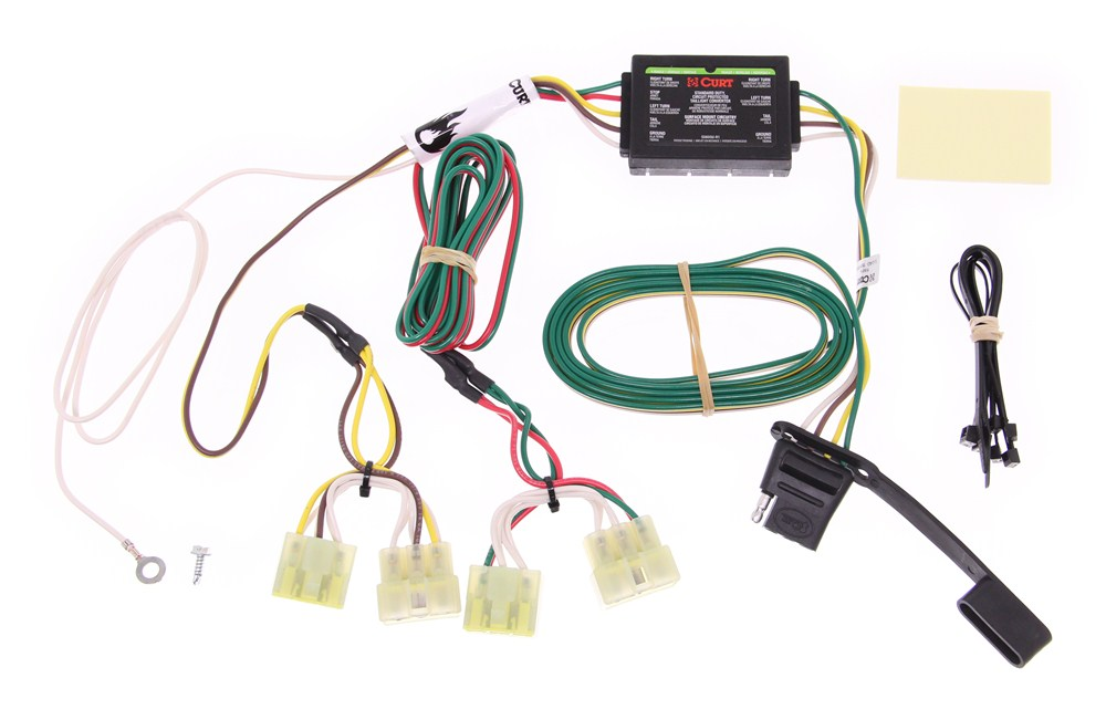 Peterbilt Ac Wiring Diagram 2003 Toyota Tacoma Curt T Connector Vehicle Wiring Harness