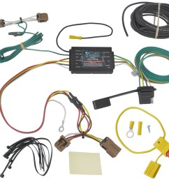 curt t connector vehicle wiring harness with 4 pole flat 4 pole trailer wiring 2 pole contactor wiring diagram [ 1000 x 907 Pixel ]
