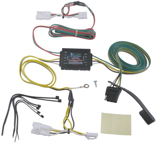 small resolution of curt t connector vehicle wiring harness with 4 pole flat 4 pin trailer wiring diagram 4 pole solenoid wiring diagram