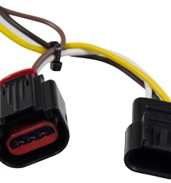 dodge journey curt t connector vehicle wiring harness with 4 pole flat trailer connector [ 1000 x 815 Pixel ]