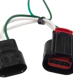 dodge journey curt t connector vehicle wiring harness with 4 pole flat trailer connector [ 1000 x 871 Pixel ]