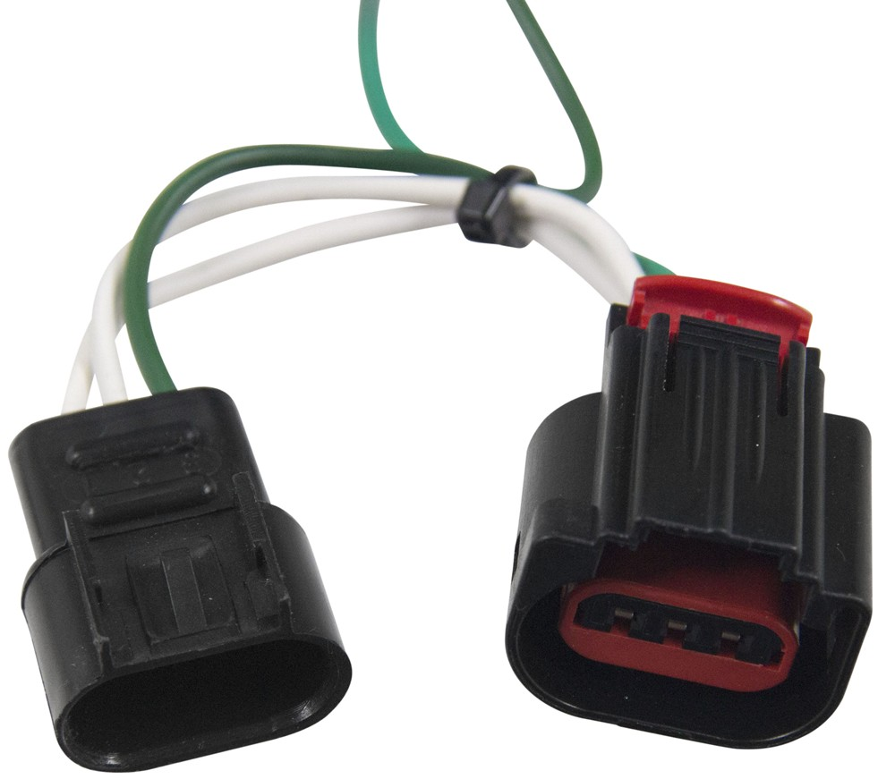 medium resolution of dodge journey curt t connector vehicle wiring harness with 4 pole flat trailer connector