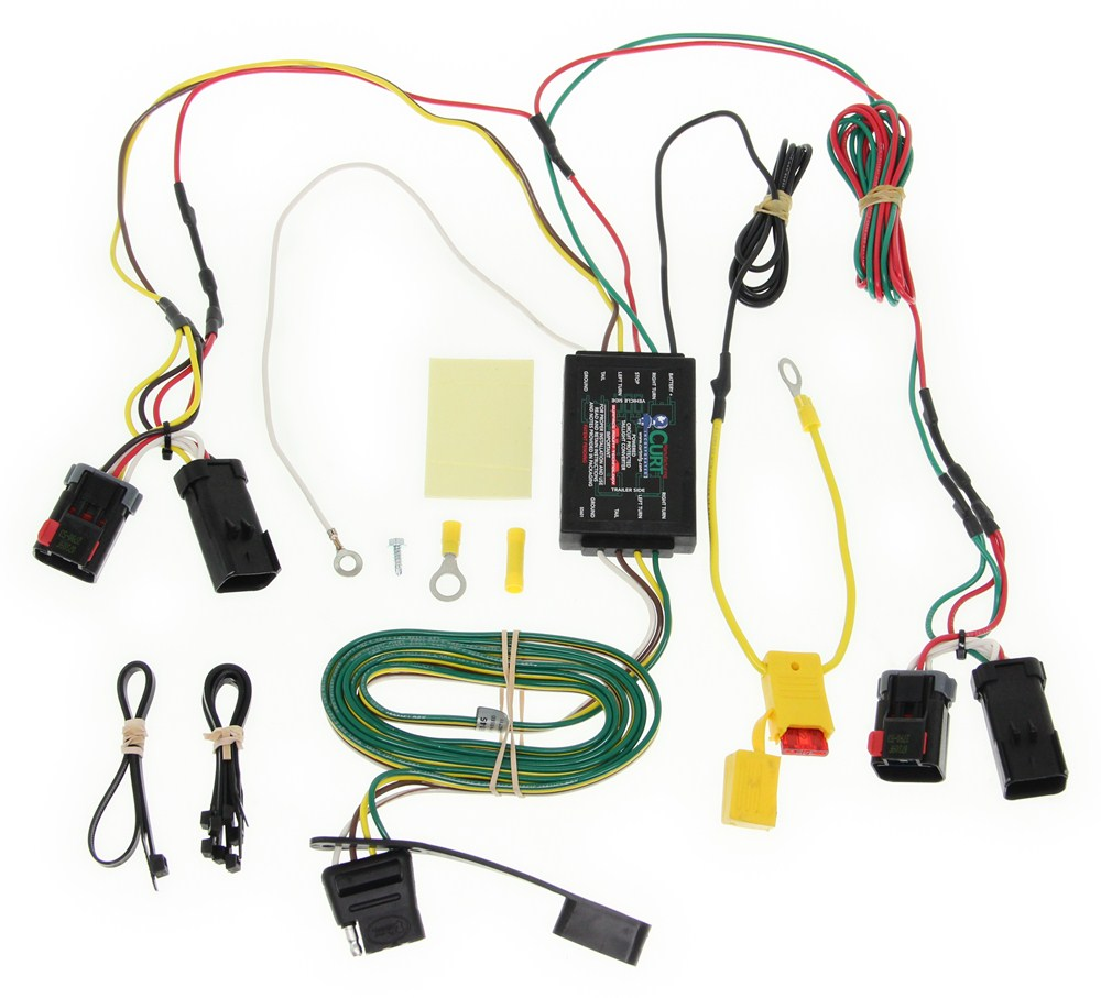 hight resolution of chrysler 300c curt t connector vehicle wiring harness with 4 pole flat trailer connector