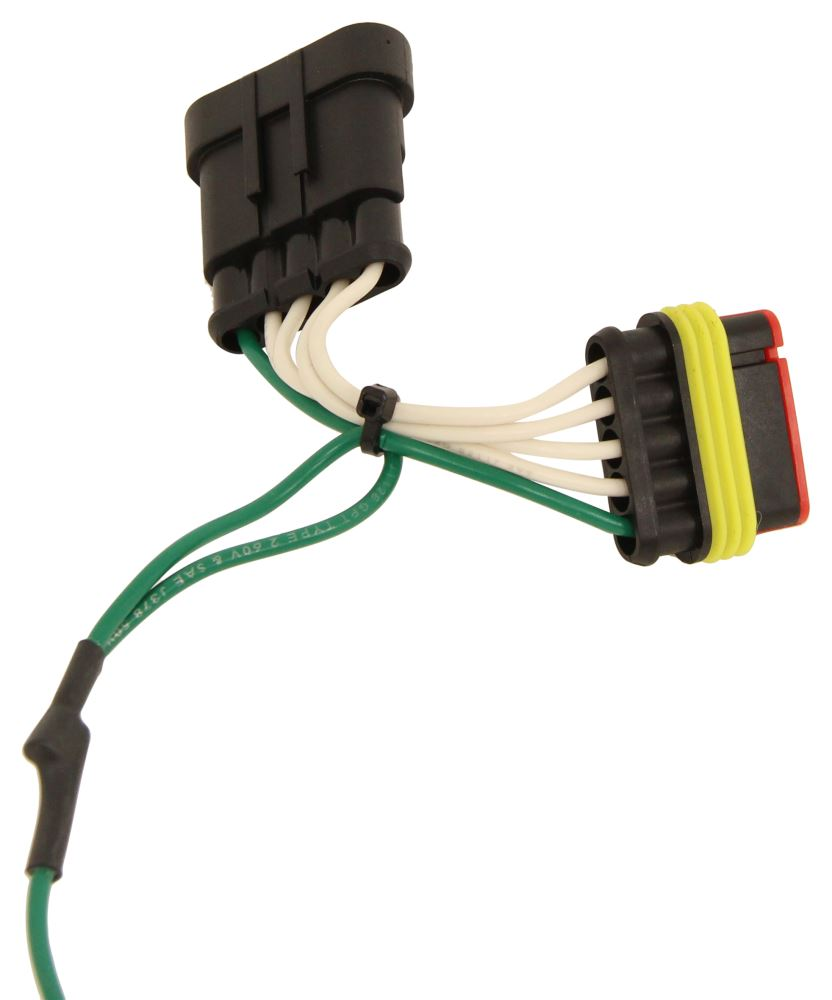 hight resolution of curt t connector vehicle wiring harness with 4 pole flat 4 flat trailer wiring diagram 4 pole switch diagram