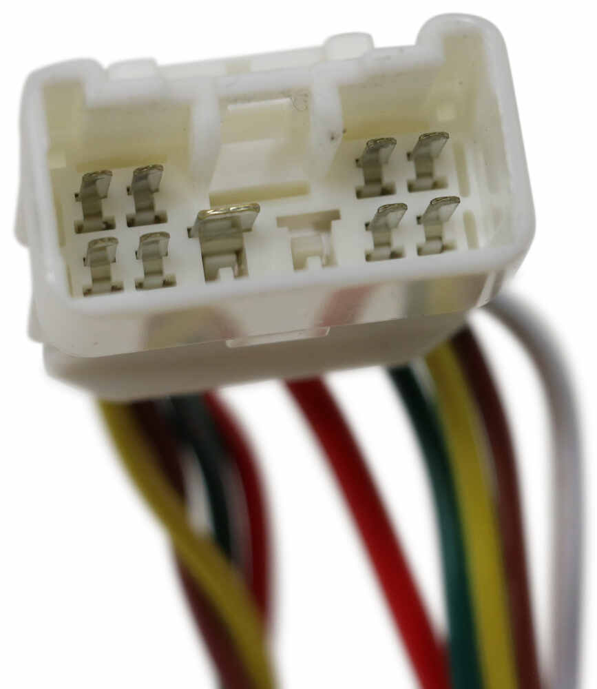 medium resolution of curt t connector vehicle wiring harness with 4 pole flat trailer connector curt custom fit vehicle wiring c56217
