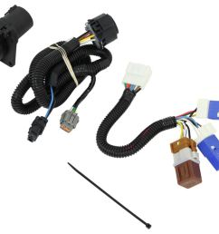 curt t connector vehicle wiring harness for factory tow package 7 2005 nissan frontier trailer wiring [ 1000 x 840 Pixel ]