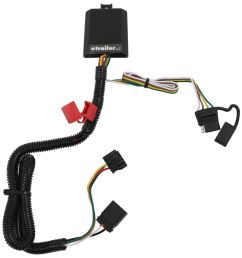 curt t connector vehicle wiring harness for factory tow package 4 pole flat trailer connector curt custom fit vehicle wiring c56332 [ 949 x 1000 Pixel ]