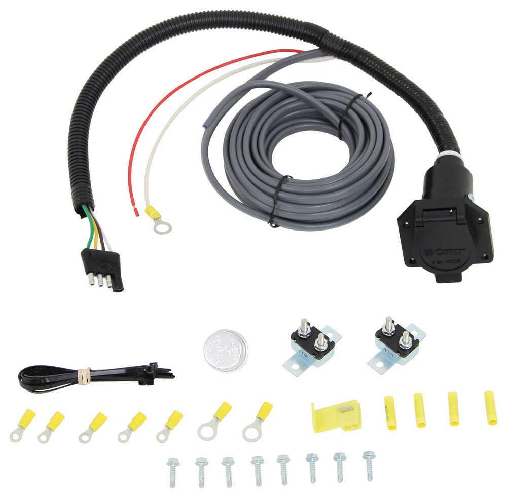 Trailer Plug Wiring Diagram Universal Installation Kit For Trailer